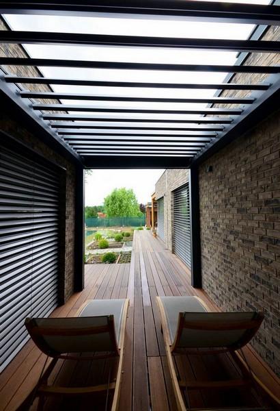 Renson střecha pergoly