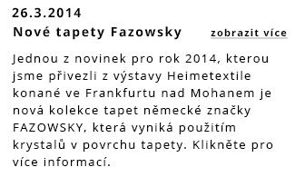Nové tapety Fazowsky
