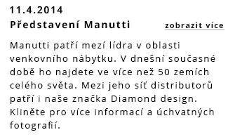 Představení venkovního nábytku Manutti