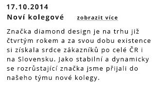 Noví kolegové týmu diamond design