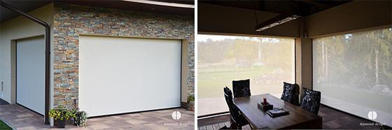 Znázornění průhlednosti screenu z interiéru