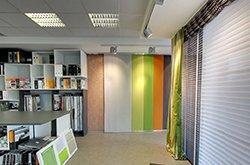 Japonské stěny v našem showroomu