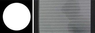 Transparentní látka symbol