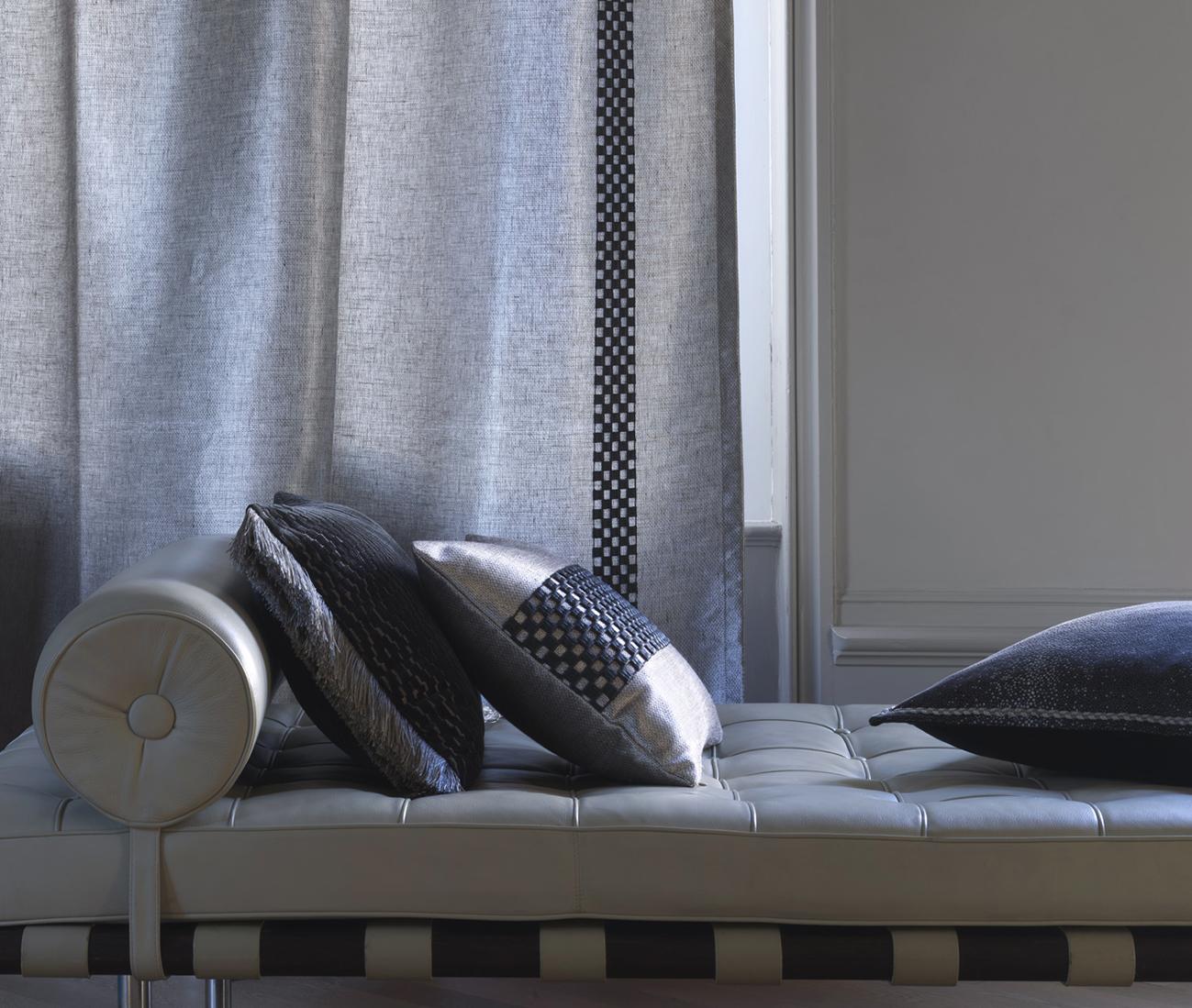 Designové polštáře a přehozy