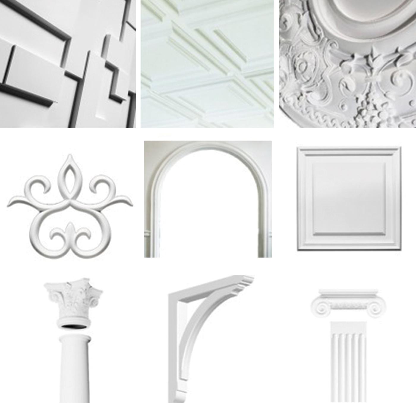 Ozdobné prvky a panely