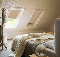 Látkové rolety do střešních oken
