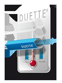 symbol tepelnych vlastnosti duette