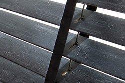 Speciálně povrchově upravené dřevěné žaluzie