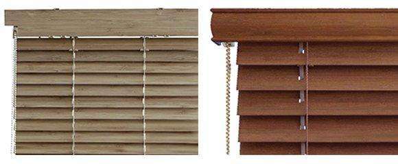 Bambusové dřevěné žaluzie