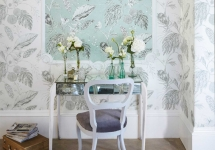 Harlequin 11-Palmetto-Amborella-wallpaper-chair-and-table