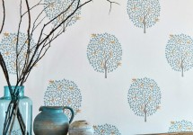 Sanderson 7 -wallpaper-living-room-neutral-botanical-bay-tree-potting-room-at-style-library